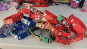 Feeling Festive?  Christmas Collars ready to order!