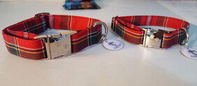 Clan Tartan Collar & Lead set - Drummond of Perth