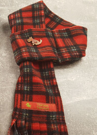 Fleece Scarf - Royal Stewart Tartan