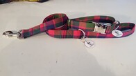 Clan Tartan Collar & Lead set - Glasgow