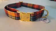 Clan Tartan Collar & Lead set - Buchanan