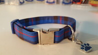 Clan Tartan Collar & Lead set - Elliot