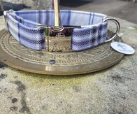 Clan Tartan Collar - Harris Lilac