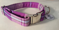 Clan Tartan Collar & Lead set - Cunningham Dress